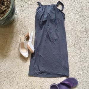 Athleta brand summer dress + built in bra